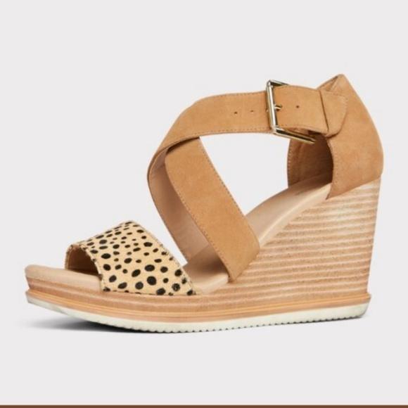 Shoes | Leopard Wedge | Poshmark